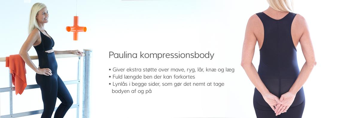 Paulina kompressionsbody